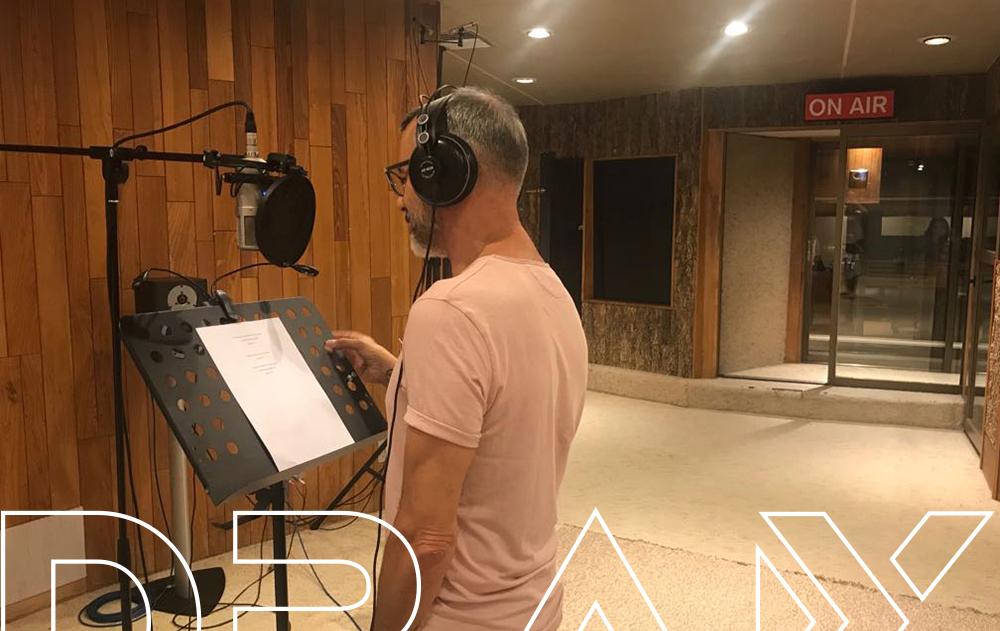 Grabación en DRAX audio Madrid