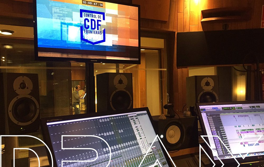 Control de Fronteras. Sala Eastalake. DRAX audio Madrid