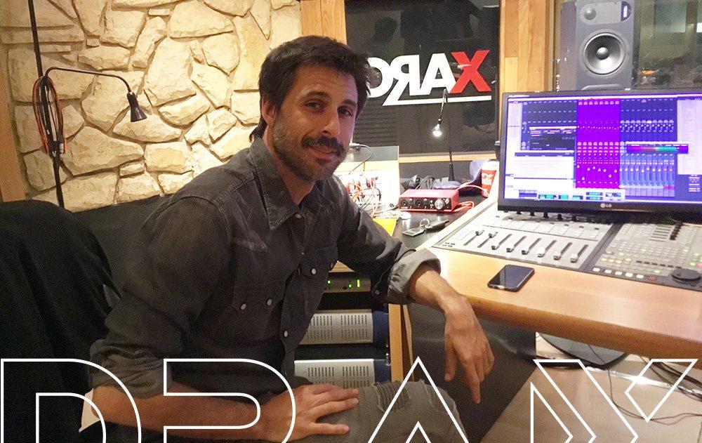 Hugo-Silva en la Sala Eastalake. DRAX audio.