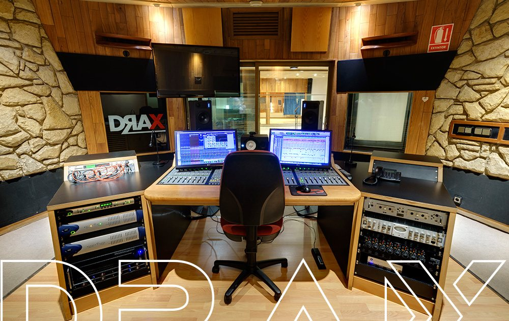 Control Sala Eastalake. DRAX audio Madrid