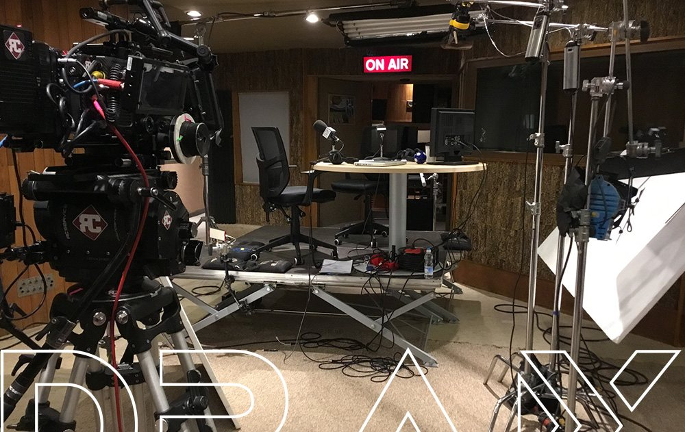 On Air, rodaje en la Sala Eastalake. DRAX audio