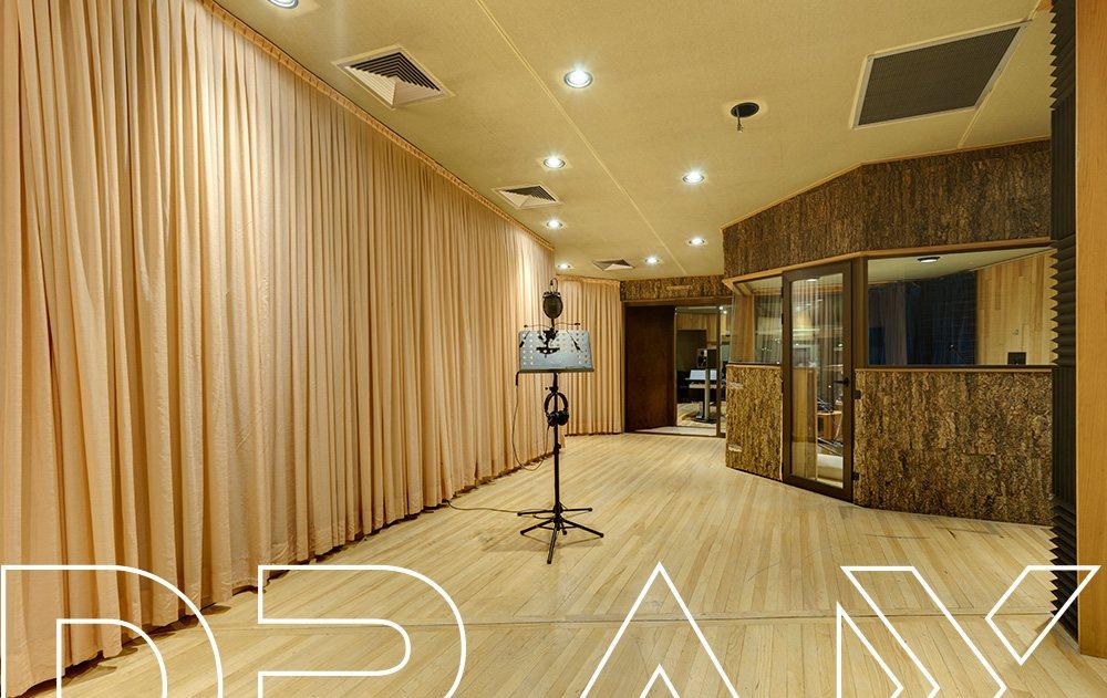 Sala Hawaii. Sala de grabación DRAX audio