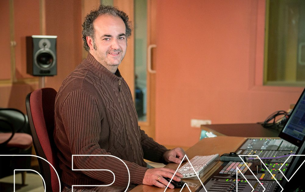 Pepe Ingeniero de sonido en DRAX audio