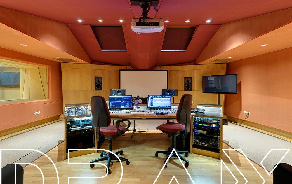 Estudio de grabación, DRAX audio - Sala Kyoto