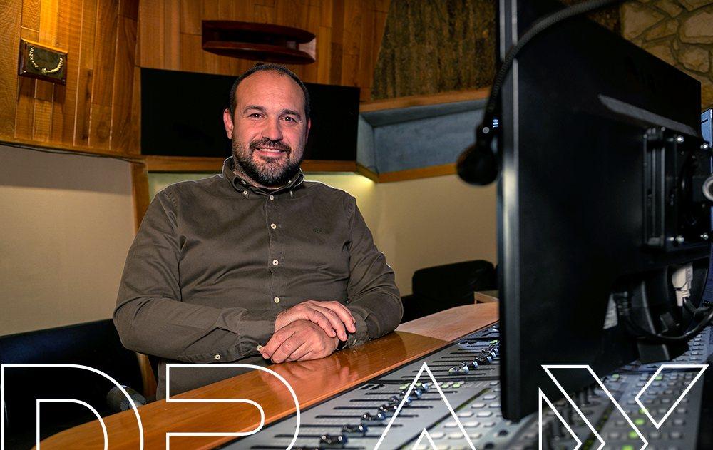 Rubén Director técnico e ingeniero de sonido en DRAX audio