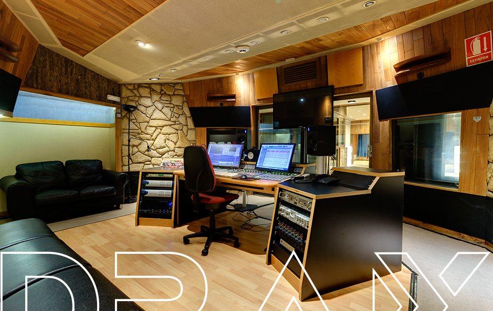 Estudio de sonido DRAX audio - Sala Eastlake